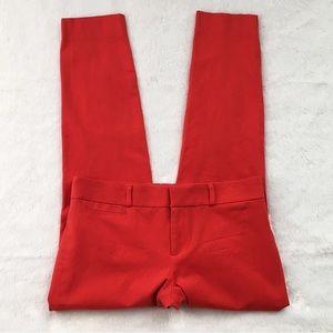 Like New Red Banana Republic Sloan Fit Pants